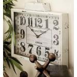 Cole Grey Melal Wall Clock COGR1630