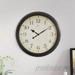 "Darby Home Co Heppner 20"" Wall Clock DBHM6143"
