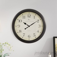 Darby Home Co Heppner 20 Wall Clock DBHM6143