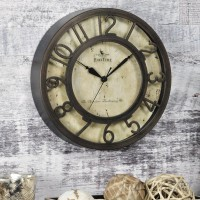 FirsTime 8 Raised Number Wall Clock FSTI1000