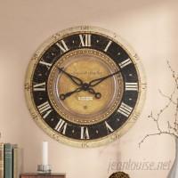 """Fleur De Lis Living Oversized Traditional 27"""" Wall Clock FDLL3447"""