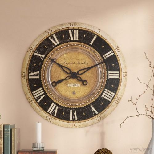 Fleur De Lis Living Oversized Traditional 27 Wall Clock FDLL3447