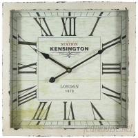 Laurel Foundry Modern Farmhouse Antique Square Wall Clock RSWH2100