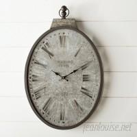 Laurel Foundry Modern Farmhouse Stapleton Pocket Watch Wall Clock LRFY5240