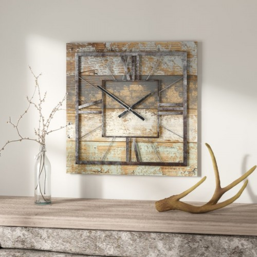 Loon Peak Square Wall Clock LNPK6360