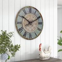 One Allium Way Kenn Round 29 Wall Clock ONAW6034