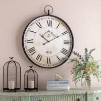 One Allium Way Oversized 31 Wall Clock ONAW2546