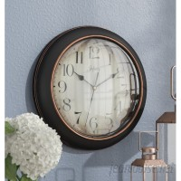 "Three Posts Hartsburg 12"" Wall Clock TRPT4470"