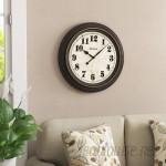 Three Posts Mabery Oversized Wall Clock TRPT6082