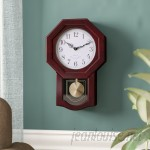 Three Posts Schaeffer Classic Schoolhouse Wall Clock THPS4527