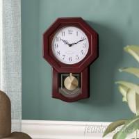 Three Posts Schaeffer Classic Schoolhouse Wall Clock THPS4527