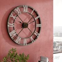 "Trent Austin Design Open Center Iron 27"" Wall Clock TADN3541"