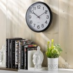 Wayfair Basics™ Wayfair Basics Indoor/Outdoor Round Wall Clock WFBS1252