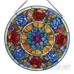 Astoria Grand Malloway Roses Window Panel ARGD7039