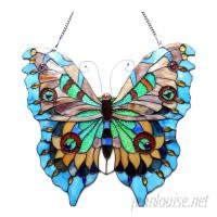 August Grove Butterfly Window Panel ATGR6864