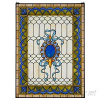 Design Toscano Cranbrook Terrace Stained Glass Window Panel TXG9357