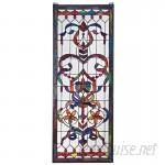 Design Toscano Delaney Manor Stained Glass Window TXG4355