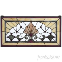 Design Toscano Victoria Lane Stained Glass Window Panel TXG9348