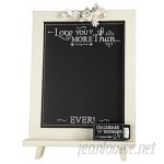 CBGT Love You Free Standing Chalkboard THAL1197