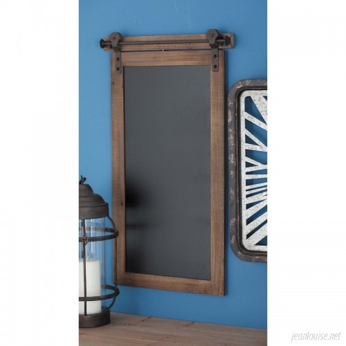Cole Grey Wood/Metal Wall Mounted Chalkboard CLRB3982