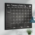 Ebern Designs Monthly Wall Mounted Dry Erase Board EBRD1485