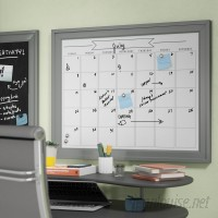 Ivy Bronx Contemporary Wall Mounted Dry Erase Board IVBX2066