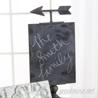 Laurel Foundry Modern Farmhouse Tabletop Chalkboard LFMF3798