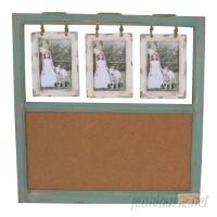 Sagebrook Home Memo Wall Mounted Bulletin Board SGBH2882
