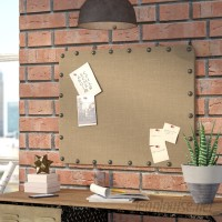 Trent Austin Design Burlap Wall Mounted Bulletin Board TRNT1010