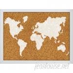 WallPops! The World Wall Mounted Bulletin Board WPP2177