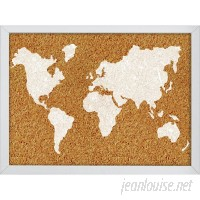 WallPops! The World Wall Mounted Bulletin Board WPP2177