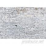 "Brewster Home Fashions Brick 8'4"" x 144"" Texture 8 Piece Wallpaper Panel Set BZH9610"