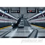 "Brewster Home Fashions Subway 8'4"" x 144"" Texture 8 Piece Wallpaper Panel Set BZH9618"