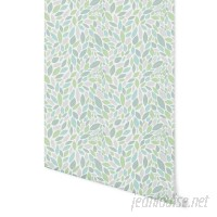 Bungalow Rose Rauscher Autumn Spring 4' L x 24 W Peel and Stick Wallpaper Panel NDN14935