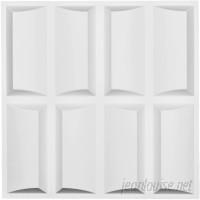 Ekena Millwork Robin 1.63' x 19.63 3D Wallpaper Panel EKMI2329