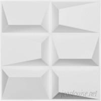 Ekena Millwork Stratford 1.63' x 19.63 3D Wallpaper Panel EKMI2330