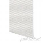 "Wrought Studio Holtzclaw Honeycomb 4' L x 24"" W Peel and Stick Wallpaper Panel NDN14964"