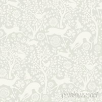 Brewster Home Fashions Hide and Seek 33' x 20.5 Anahi Forest Fauna Wallpaper Roll BZH5024