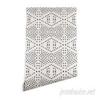East Urban Home Holli Zollinger Tile 10' L x 24 W Matte Peel and Stick Wallpaper Roll ETRB2247