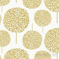 Loboloup Hydrangea 15' x 27 Floral and Botanical Wallpaper Roll LOBO1011