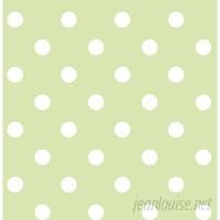 WallPops! Dottie Peel And Stick 18' x 20.5 Polka Dot Wallpaper WPP1806
