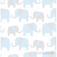 WallPops! Elephant Parade Peel And Stick Wallpaper WPP1804