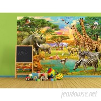 WallPops! On Safari Wall Mural WPP1773