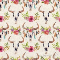 Walls Need Love Dreams of Old Removable 5' x 20 Floral Wallpaper WANL2669