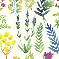 Walls Need Love Fern Gully Removable 5' x 20 Floral Wallpaper WANL3116