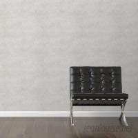 "Walls Need Love Fine Gray Removable 10' x 20"" Chevron Wallpaper WANL3355"