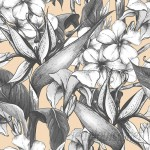 """Walls Need Love Mabel Removable 5' x 20"""" Floral Wallpaper WANL3455"""