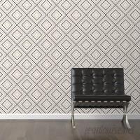 Walls Need Love Pixel Diamonds Removable 10' x 20 Geometric Wallpaper WANL3156