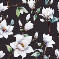 Walls Need Love Vintage Magnolia 5' x 20 Floral Wallpaper Roll WANL2946