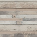 "Walls Republic 32.97' x 20.8"" Faux Tinted Wood Wallpaper WREP1337"